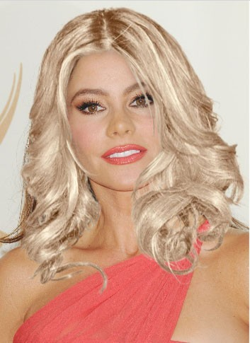 Sofia Vergara blonde (photomontage)
