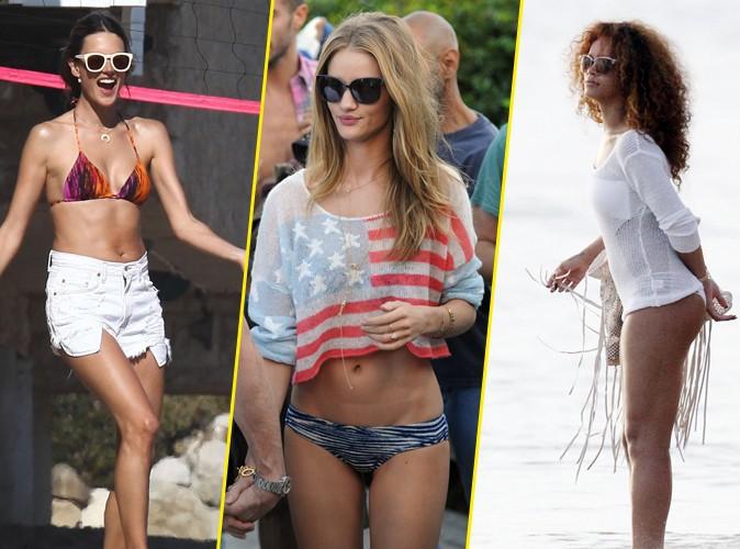 Look t 2012 les tenues des stars la plage - Habit de plage ...