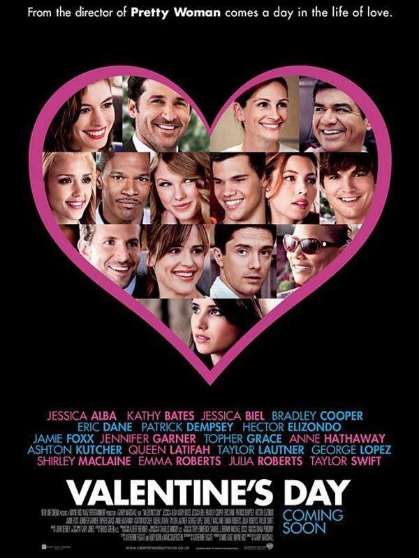 Quel film pour la Saint-Valentin ?