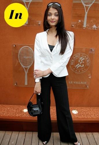 Aishwarya Rai en 2007 à Paris.