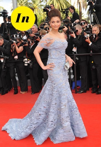 Aishwarya Rai en 2010 à Cannes.