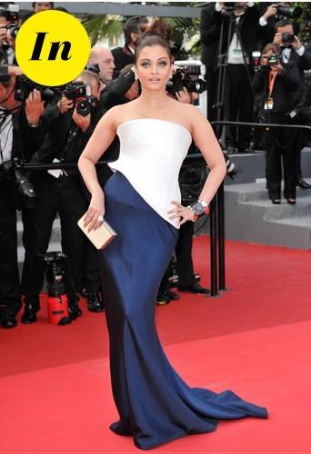 Aishwarya Rai en Armani Privé en 2011 à Cannes.