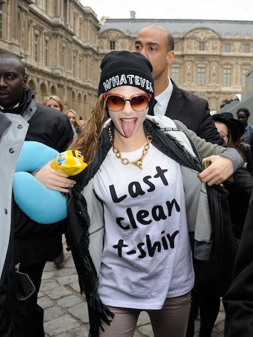 Dernier T-Shirt propre... on t'excuse alors !