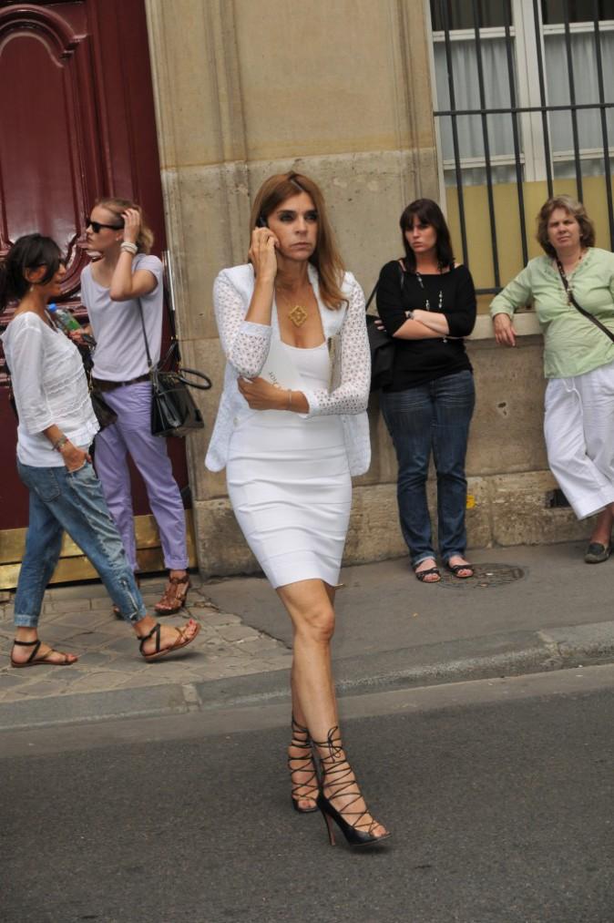 looks de carine roitfeld   d u00e9couvrez le cv fashion de l u0026 39 ex