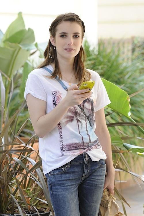 C'est l'iPhone d'Emma Roberts !