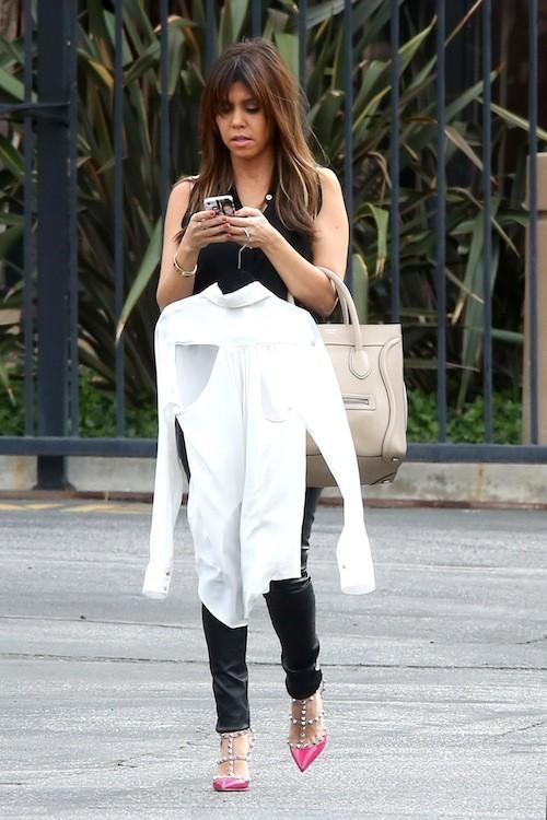 C'est l'iPhone de Kourtney Kardashian !
