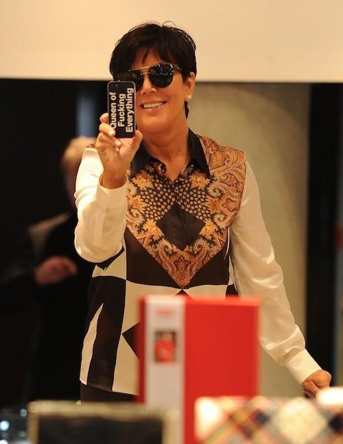 C'est l'iPhone de Kris Jenner !