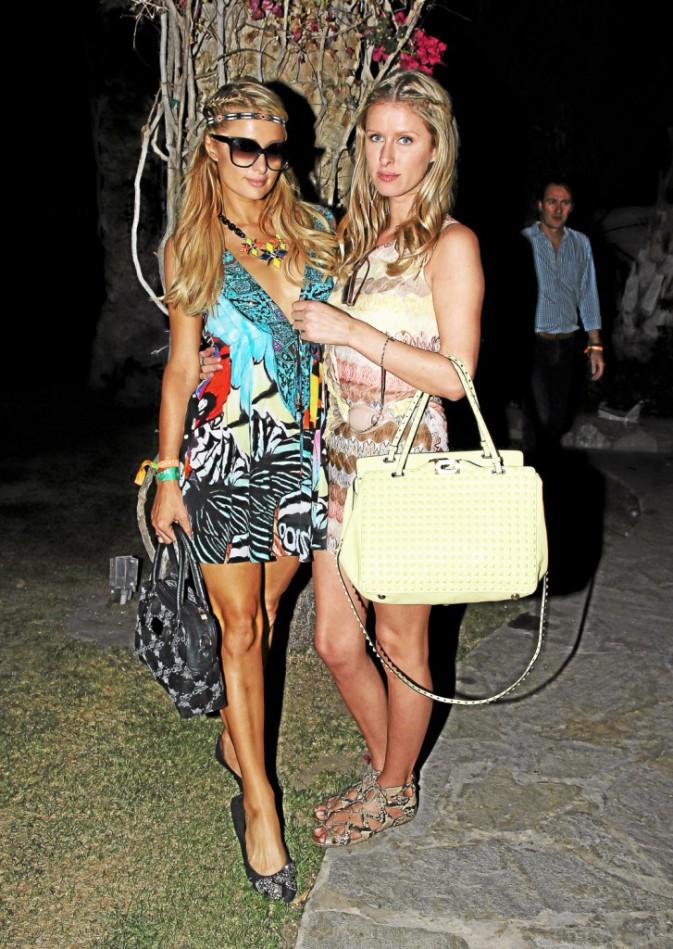 Ibiza comme Paris et Nicky Hilton :