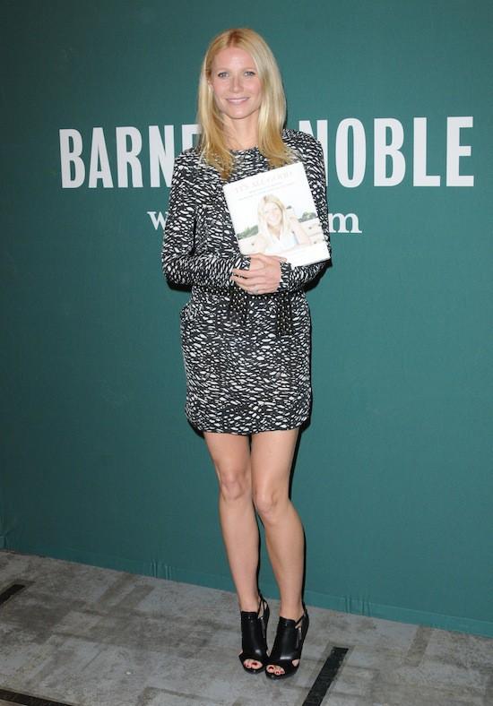 Gwyneth Paltrow et ses chaussures Michael Kors