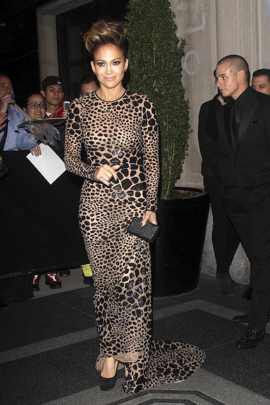 J-Lo en robe Michael Kors