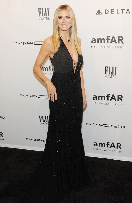 La robe Michael Kors d'Heidi Klum