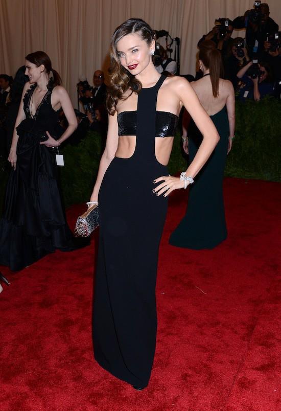 Miranda Kerr en robe Michael Kors
