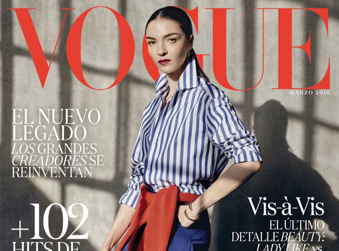 Mariacarla Boscono : working girl en couverture de Vogue Mexique