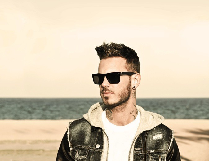 M.Pokora lance sa collection de solaires