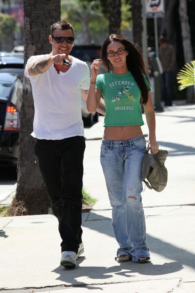 Look à la garçonne pour Megan Fox !