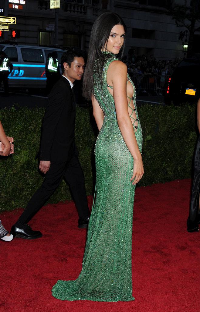 Kendall Jenner lors du Met Gala 2015