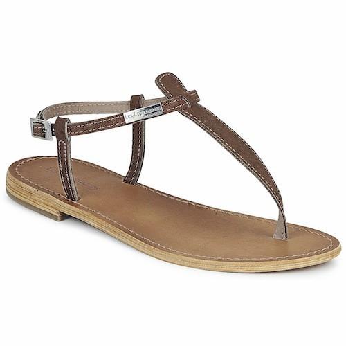 Sandales en cuir, Les Tropéziennes par M. Belarbi pour sarenza.com, 40 euros