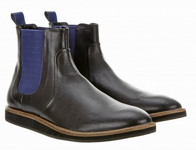 Boots en cuir, Topman 150 €