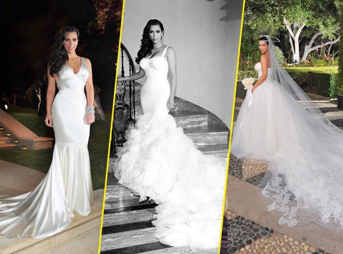 Kim Kardashian : sa robe de mariée ? Kanye West s'en charge !