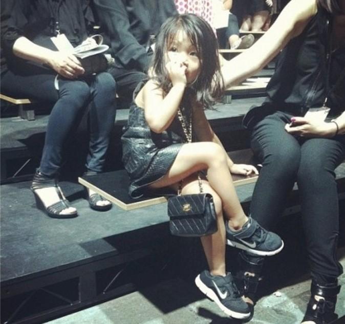 Aila Wang, une habituée des 'front row'