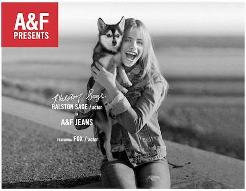 Mode : Abercrombie & Fitch : une nouvelle campagne digne des films hollywoodiens !