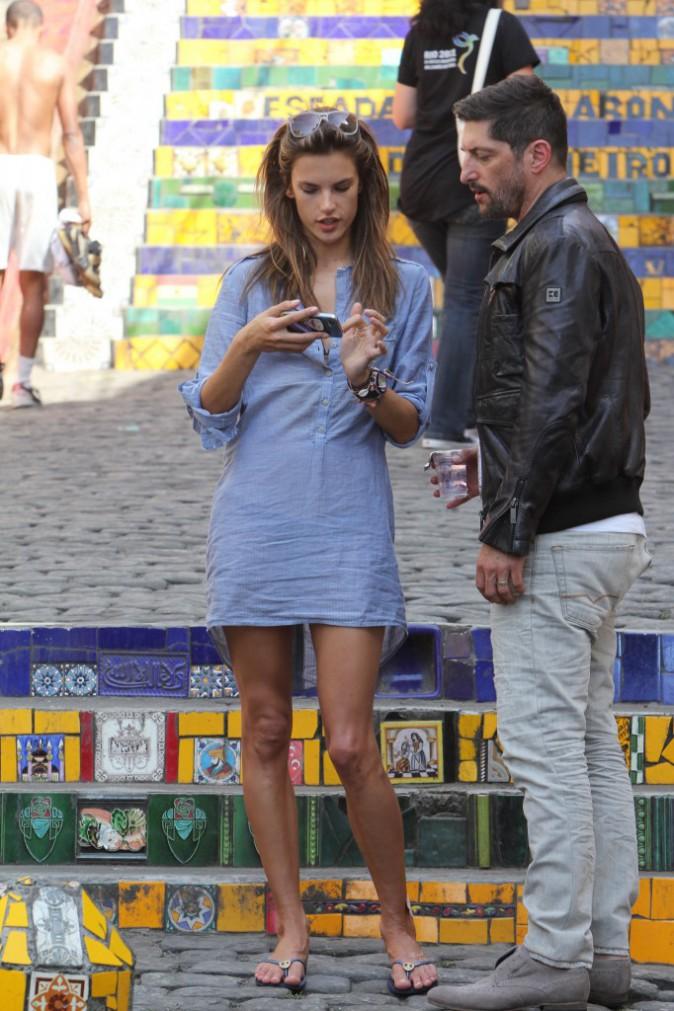 Alessandra Ambrosio : trop fan des tongs !