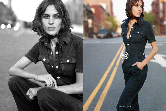 Mode : Alexa Chung nous présente les nouvelles pièces de la marque AG Jeans !