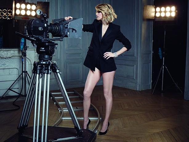 Alice Taglioni : sensuelle à souhait pour Dessange Paris