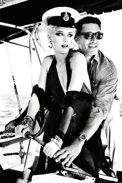 Amber Heard pour la nouvelle collection printemps-été 2012 de Guess