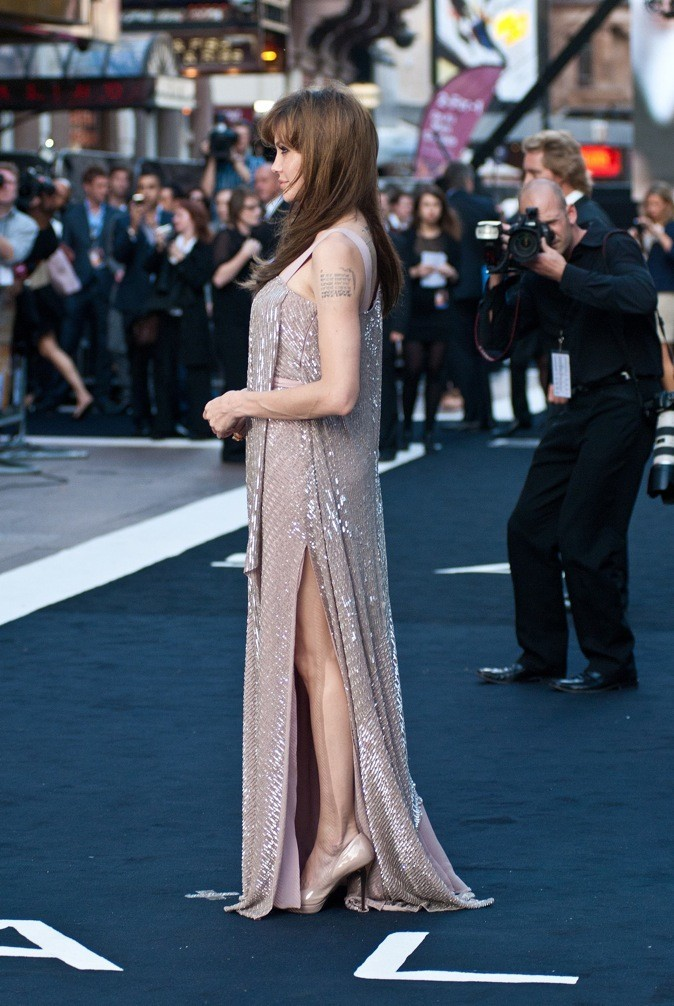 Août 2010 : Angelina Jolie à l'avant-première de Salt