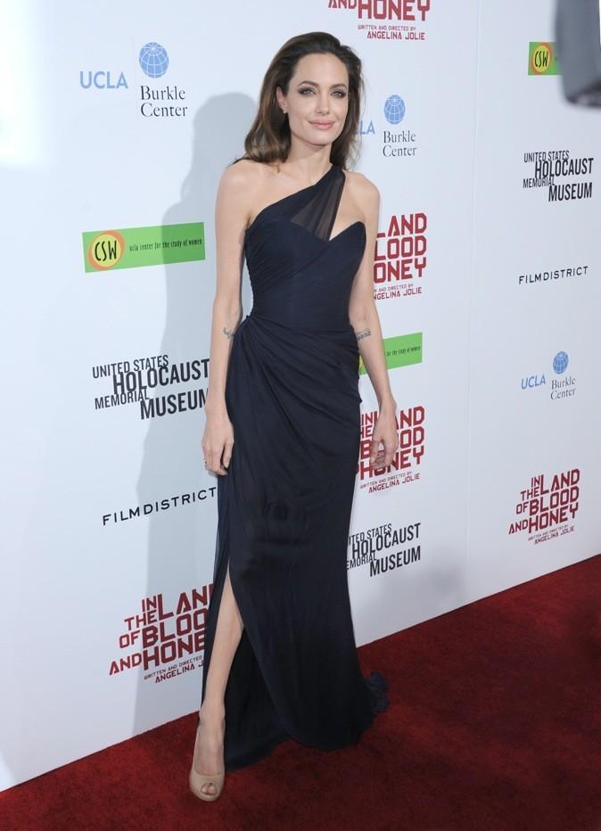 Décembre 2011 : Angelina Jolie à l'avant-première d'Au pays du sang et du miel