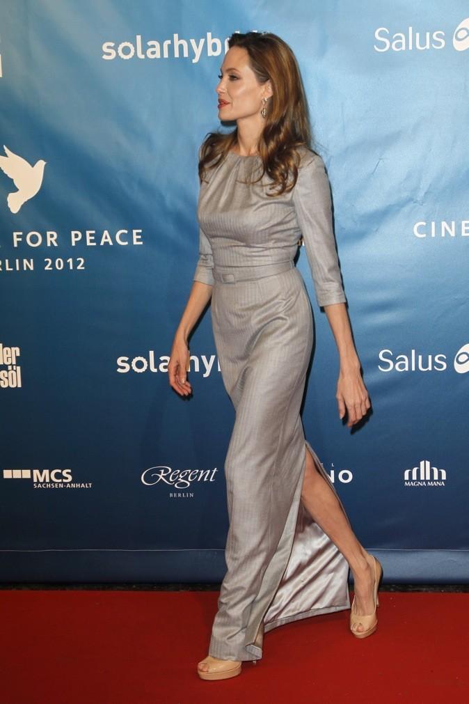 Février 2012 : Angelina Jolie au gala de charité du Festival du film de Berlin