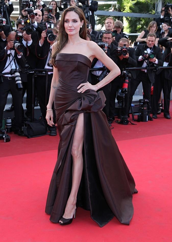 Mai 2011 : Angelina Jolie au Festival de Cannes