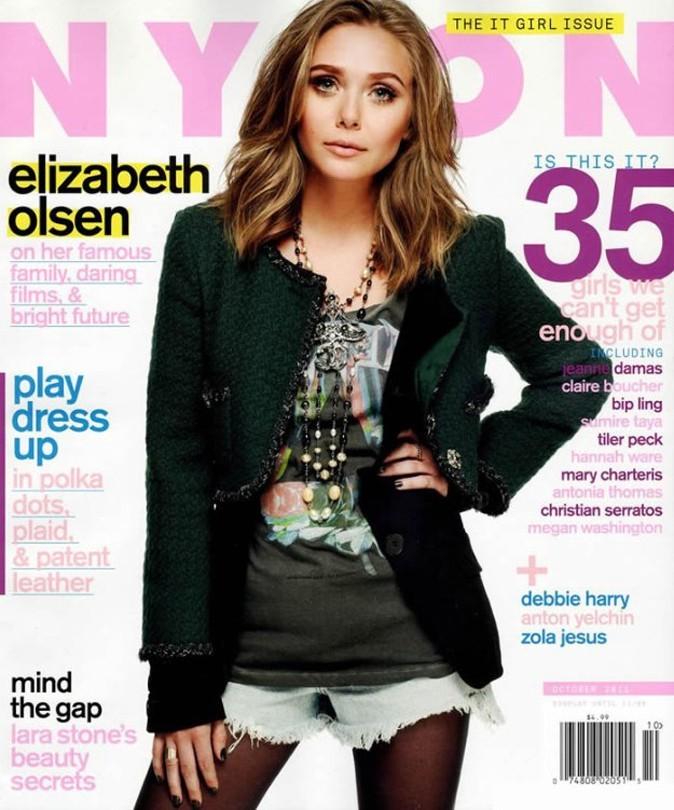 Elizabeth Olsen fait la couverture de Nylon en Octobre 2011 !