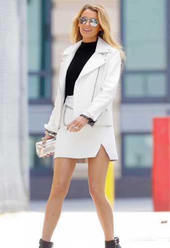 Blake Lively, perdue dans le calendrier de la Fashion Week !