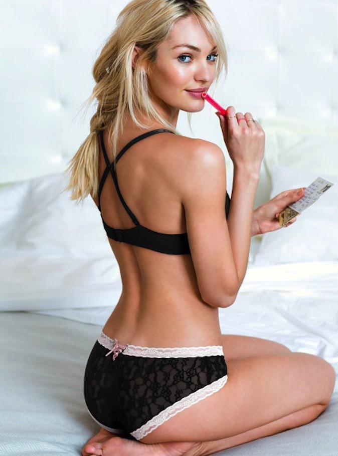 Candice Swanepoel topless et sexy pour la nouvelle campagne Victoria's Secret !
