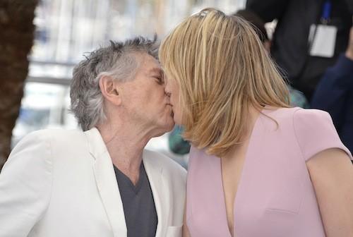 La Venus à la fourrure : Roman Polanski et Emmanuelle Seigner