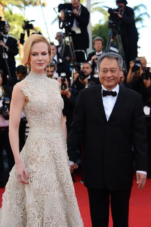 Nicole Kidman et Ang Lee le 23 mai 2013