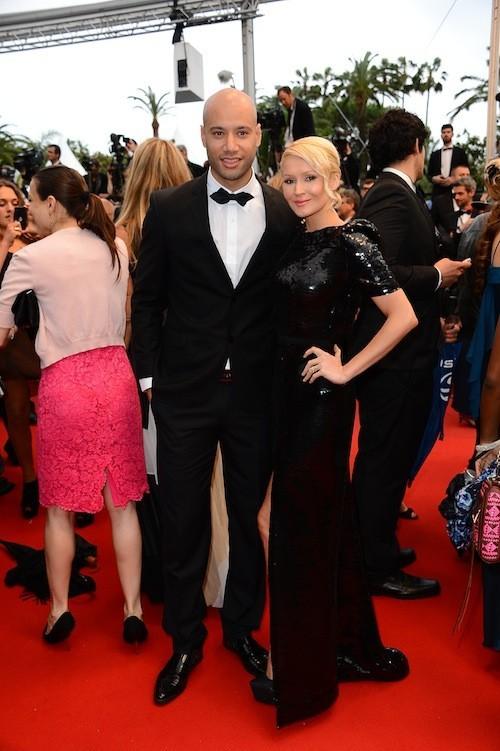 Tatiana Laurens et Xavier Delarue le 22 mai 2013