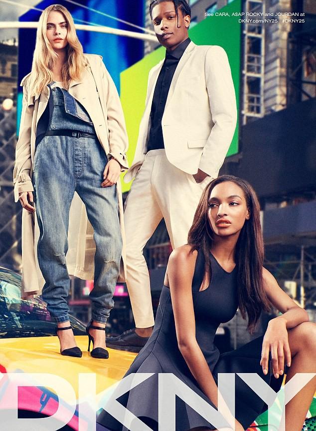 Mode : Cara Delevingne : Nouvelle égérie fun et sexy pour DKNY !