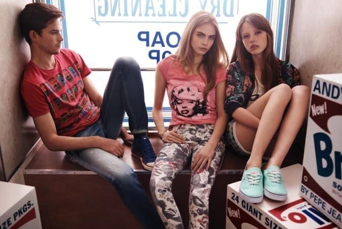 Cara Delevingne nouvelle égérie pour Pepe Jeans !