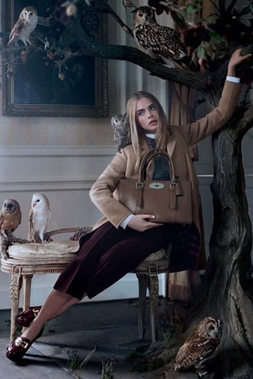 Mode : Cara Delevingne : une égérie champêtre qui pourrait devenir styliste pour Mulberry !