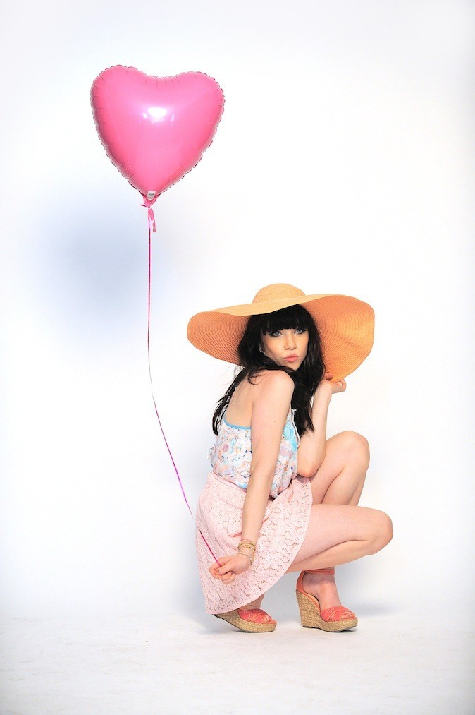 Carly Rae Jepsen pour Candie's