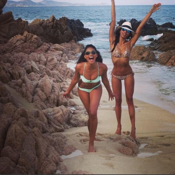 Mode : Chanel Iman : l'Ange de Victoria's Secret s'affiche plus sexy que jamais en bikini !