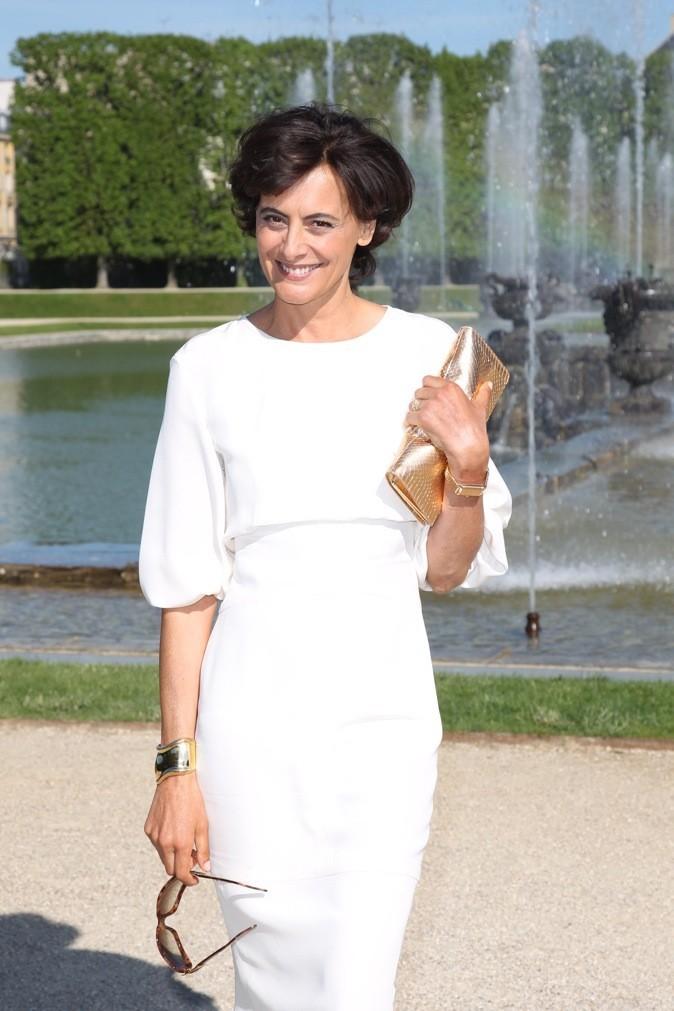 Inès de la Fressange au défilé Chanel Croisière 2013