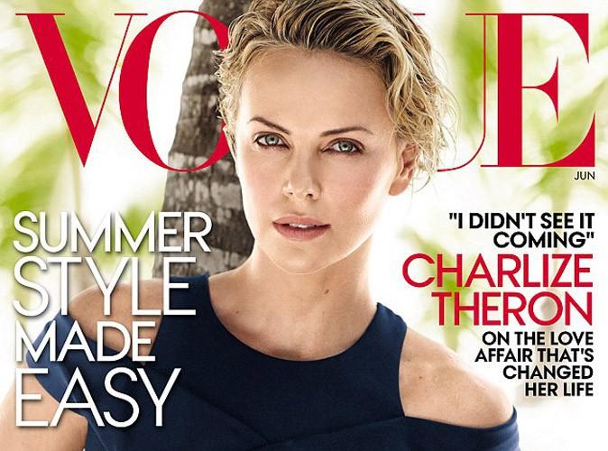 Mode : Charlize Theron pour la sixième fois en couverture de Vogue !