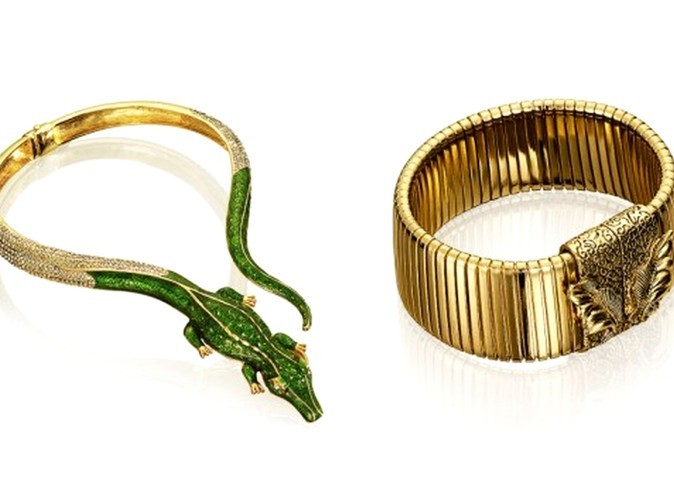 Collier crocodile, Anna Dello Russo pour H&M 49,95 €