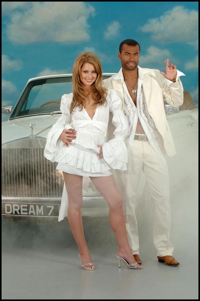Avec Ashley Cole, son ex mari, pour une publicité un rien kitsch