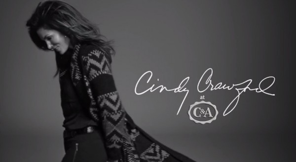 Cindy Crawford@ C&A !