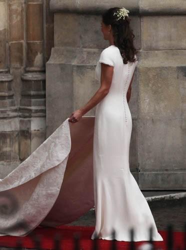 Une robe très près du corps